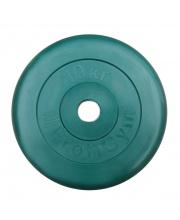 Диск обрезиненный d 31 мм 10 кг Profigym