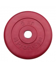 Диск обрезиненный d 31 мм 5 кг