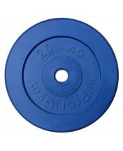 Диск обрезиненный d 31 мм 20 кг