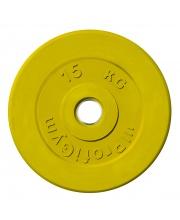 Диск обрезиненный d 51 мм 15 кг