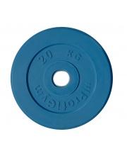 Диск обрезиненный d 51 мм 20 кг