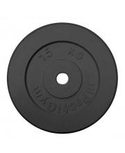 Диск обрезиненный d 26 мм 15 кг