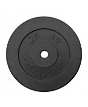 Диск обрезиненный d 26 мм 25 кг