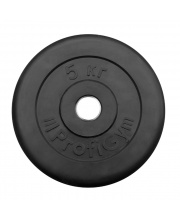 Диск обрезиненный d 26 мм 5 кг