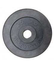 Диск обрезиненный d 51 мм 25 кг