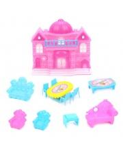 Замок с мебелью Наша Игрушка