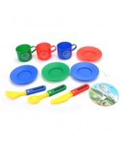 Набор посуды 10 предметов Наша Игрушка