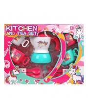 Набор посуды 9 предметов Наша Игрушка