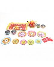 Набор посуды для чаепития мет 15 предметов Наша Игрушка