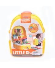 Набор посуды и продуктов в рюкзачке в компл 25 предметов Наша Игрушка