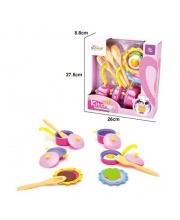 Набор посуды и продуктов 16 предметов Наша Игрушка