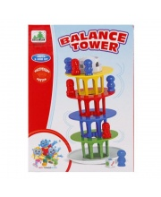 НИ Баланс Башня, кубик, 18 фигурок. Наша Игрушка