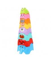 Пирамидка детская 33 см 8 элементов Наша Игрушка