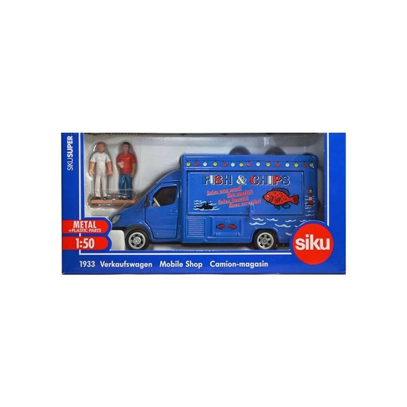 Мобильный магазин-фургон от Nils
