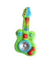 Гитара со светом на батарейках