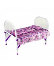 Кроватка для куклы Хризантема Наша Игрушка