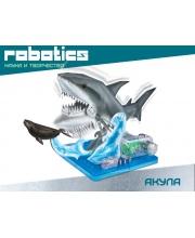 Научный опыт Акула на батарейках AMAZING