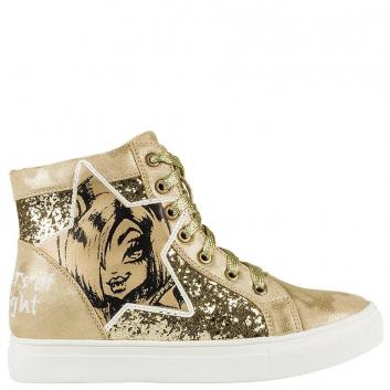 Обувь, Кеды  Kakadu (золотой)638855, фото