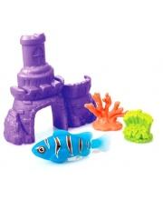 Рыбка в наборе с кораллами и замком в ассортименте S+S Toys