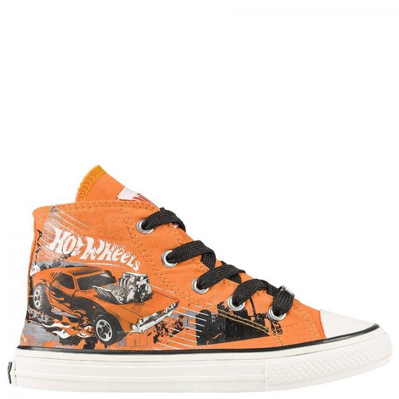 КедыКеды оранжевогоцвета Hot Wheels марки Kakadu для мальчиков.<br>Модные комфортные кеды для мальчиков школьного возраста. Обувь украшена изображением в стиле Hot Wheels - моделями спортивных машин, которые так нравятся мальчикам. Фиксируются на ноге с помощью шнуровки. Сделаны кеды из качественного текстиля, который позволяет ноге дышать.Подошва - из очень износостойкого и прочного материала, который позволяет ребенку чувствовать себя комфортно при ходьбе.<br><br>Размер: 33<br>Цвет: Оранжевый<br>Пол: Для мальчика<br>Артикул: 638890<br>Страна производитель: Китай<br>Сезон: Весна/Лето<br>Материал верха: Текстиль<br>Материал подкладки: Хлопчатобумажная<br>Материал подошвы: ПВХ (поливинилхлорид)<br>Лицензия: Hot Wheels