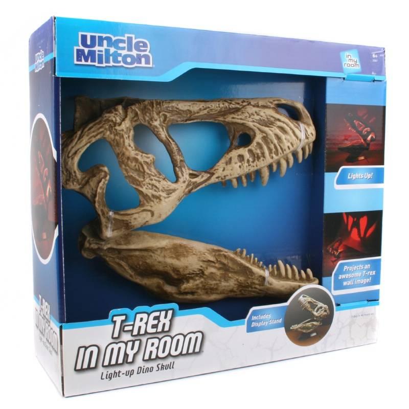 Uncle Milton Светильник Череп Тиранозавра светильник uncle milton тачки гран при 2218