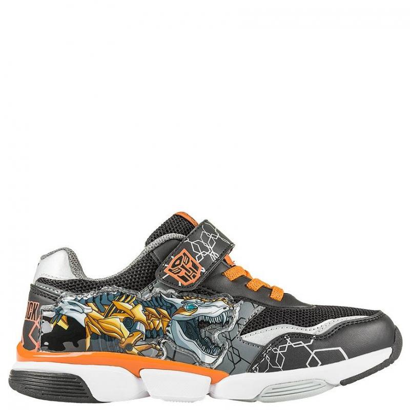 КроссовкиКроссовкитемно-серогоцвета с рисунком Transformersмарки Kakаdu для мальчиков.<br>Модель украшена изображением в стиле Transformers.Сделана обувь из качественной синтетической кожи, с включениями текстиля, которые позволяют ноге дышать. Подошва - устойчивая и износостойкая.Основной цвет кед - черный, есть яркие оранжевые элементы.<br><br>Размер: 31<br>Цвет: Темносерый<br>Пол: Для мальчика<br>Артикул: 638919<br>Страна производитель: Китай<br>Сезон: Весна/Лето<br>Материал верха: Текстиль / Иск. кожа<br>Материал подкладки: Хлопчатобумажная<br>Материал подошвы: ЭВА (каучук)<br>Лицензия: TRANSFORMERS