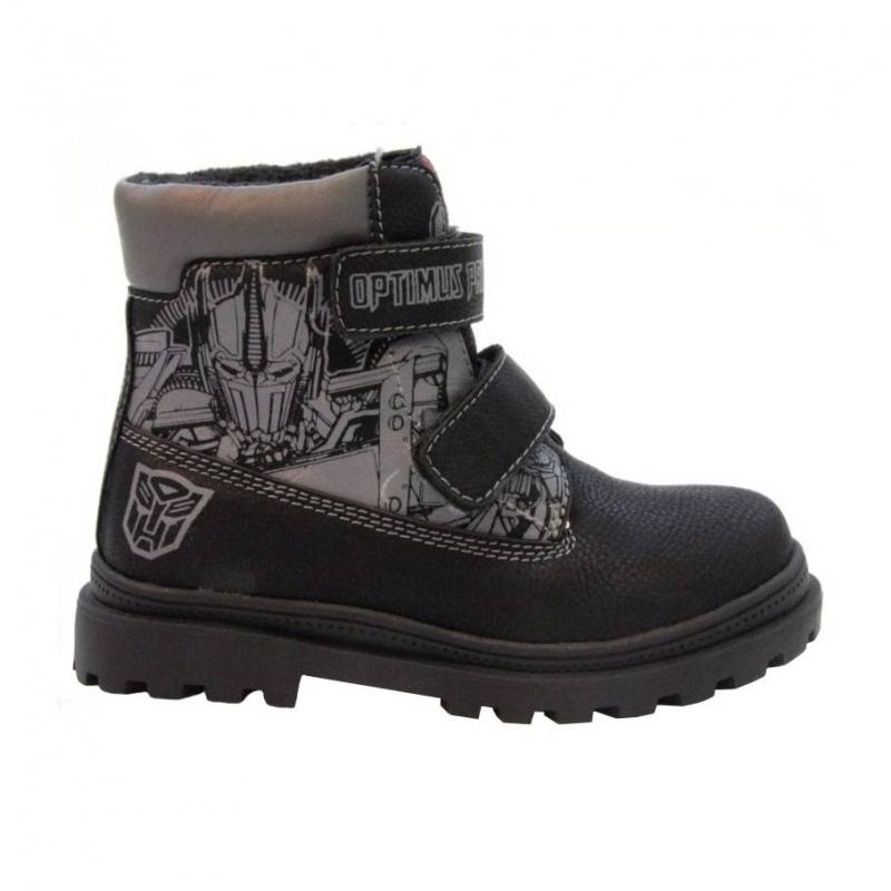 БотинкиБотинки черного цвета с рисунком Transformers марки Kakadu для мальчиков - идеальная обувь в прохладную погоду. Если мальчику обязательно понравится внешний вид этой модели, то родители оценят высокое качество ботинок.Сочетание качественных натуральных и искусственных материалов, мощная подошва, прочный верх и подкладка – всё это делает ботинки удобными и износостойкими.<br><br>Размер: 37<br>Цвет: Черный<br>Пол: Для мальчика<br>Артикул: 644612<br>Страна производитель: Китай<br>Сезон: Осень/Зима<br>Материал верха: Искусственная кожа<br>Материал подкладки: Натуральная кожа / Текстиль<br>Материал подошвы: ТПР (термопластичная резина)<br>Лицензия: TRANSFORMERS