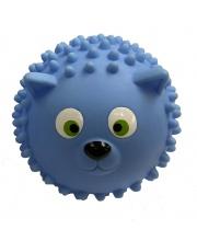 Мяч массажный 8,5 см Кошка голубая ЯиГрушка