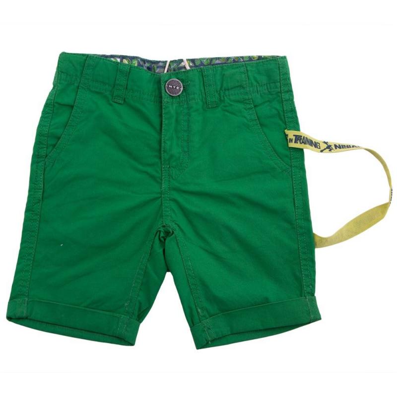 ШортыШортызеленогоцвета маркиButton Blue для мальчиков.Шорты с отворотами, застегиваются на молнию и кнопку. Имеютдва передних и два задних кармана, шлейки для пояса.Один из задних карманов украшен принтом с Черепашкой Ниндзя. Шорты сзади декорированы молнией.<br><br>Размер: 3 года<br>Цвет: Зеленый<br>Рост: 98<br>Пол: Для мальчика<br>Артикул: 636548<br>Бренд: Россия<br>Страна производитель: Китай<br>Сезон: Весна/Лето<br>Состав: 100% Хлопок<br>Лицензия: Черепашки Ниндзя
