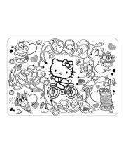 Коврик-раскраска Hello Kitty