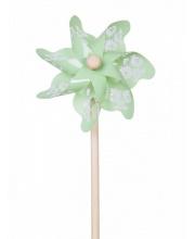 Ветрячок Зелёный с узорами 31 см ЯиГрушка