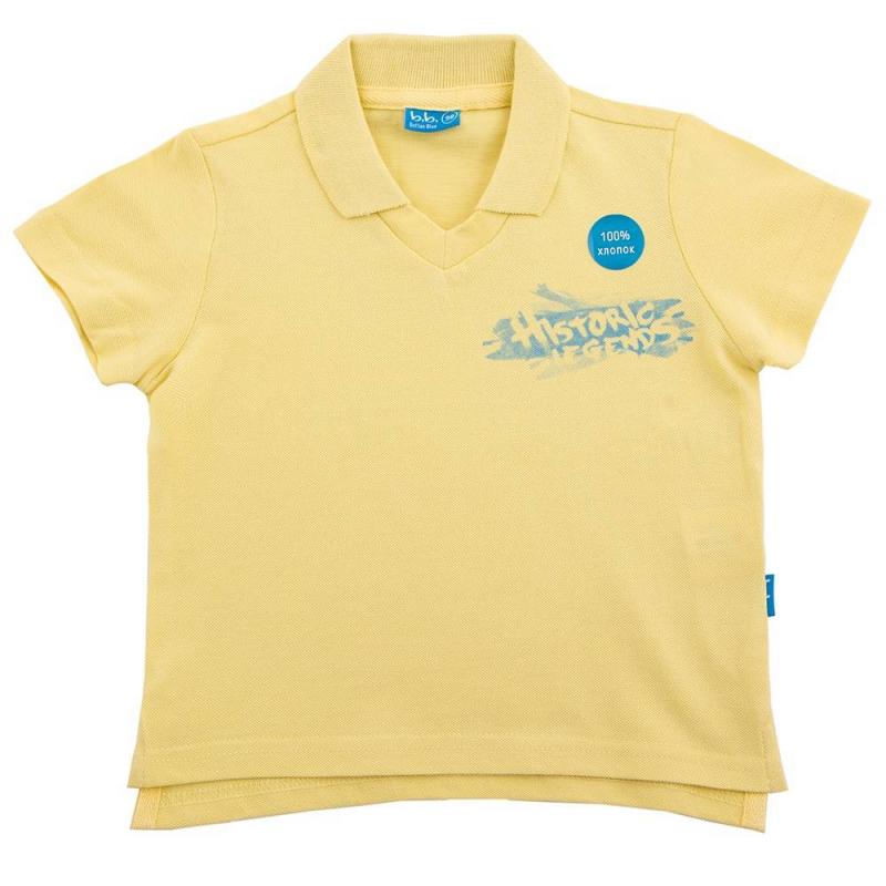 ФутболкаФутболка желтого цвета маркиButton Blue для мальчиков. Выполнена из хлопка. Украшена принтом-надписью синего цвета.<br><br>Размер: 3 года<br>Цвет: Желтый<br>Рост: 98<br>Пол: Для мальчика<br>Артикул: 633811<br>Бренд: Россия<br>Страна производитель: Китай<br>Сезон: Весна/Лето<br>Состав: 100% Хлопок