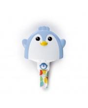 Прорезыватель с зажимом Пингвин