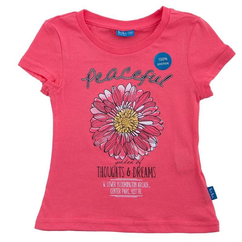 ФутболкаФутболка коралловогоцветамаркиButton Blue для девочек. Украшена принтом с цветком и надписью. Выполнена из хлопка.<br><br>Размер: 12 лет<br>Цвет: Коралловый<br>Рост: 152<br>Пол: Для девочки<br>Артикул: 636178<br>Страна производитель: Китай<br>Сезон: Весна/Лето<br>Состав: 100% Хлопок<br>Бренд: Россия