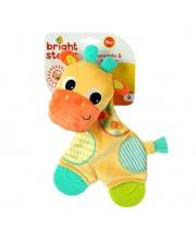 Развивающая игрушка Самый мягкий друг с прорезывателями Жираф Bright Starts