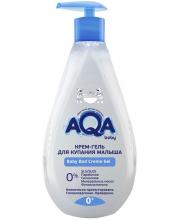 Крем-гель для купания малыша 400 мл AQA Baby