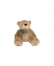 Медведь сидящий с лентой PLUSH APPLE