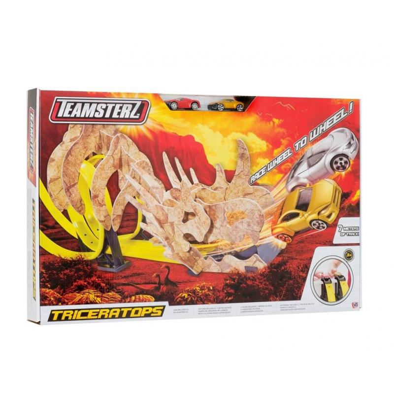 HTI Двойной трек Динозавры. Трицератопс