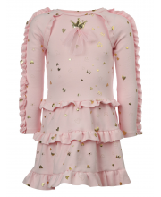 Платье с рюшами Choupette