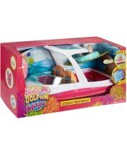 Лодка Морские приключения моторная с аксессуарами Barbie Mattel