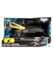 Самолет Бэтмена озвученный с фигуркой и аксессуарами Mattel