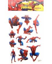 Наклейки Человек-паук 3D