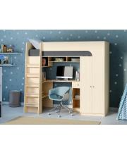Кровать-чердак Астра 10 РВ Мебель