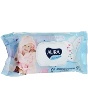 Влажные салфетки для детей Ultra Comfort 100 шт