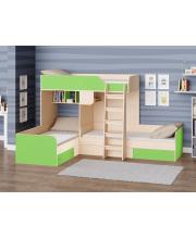 Кровать двухъярусная Трио РВ Мебель