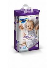Подгузники для детей Нежное прикосновение 4/L 7-14 кг 44 шт Солнце и Луна
