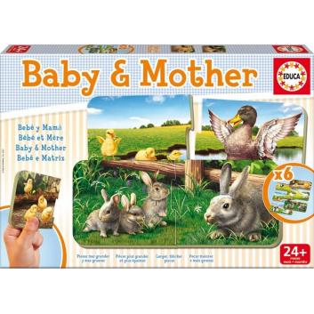 Игра-пазл Мамы и Дети