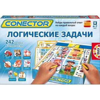 Книги и развитие, Электровикторина Логические задачи Educa 639579, фото