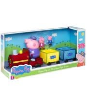 Игровой набор Свинка Пеппа Поезд дедушки Пеппы