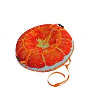 Тюбинг 110 см Сочный апельсин Митек